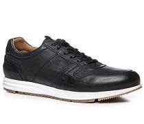 Herren Schuhe Sneaker Leder nachtblau