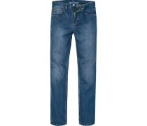 Jeans Comfort Fit Baumwolle jeansblau