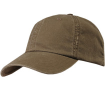 Herren  strellson Cap Baumwolle khaki grün
