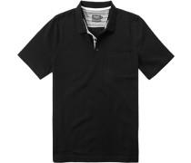 Poloshirt Baumwolle mercerisiert