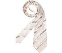 Herren Krawatte  weiß