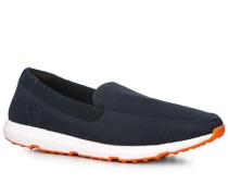 Schuhe Loafer Textil navy