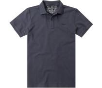 Polo-Shirt Polo Modern Fit Baumwoll-Piqué marine