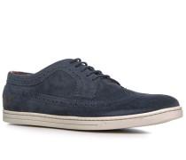 Schuhe Sneaker Veloursleder marineblau
