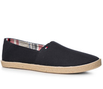 Schuhe Espandrilles Textil navy