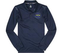 Polo-Shirt Polo Microfaser navy