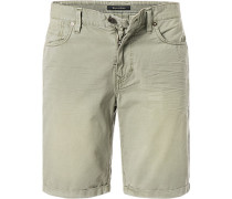 Jeansshorts, Shaped Fit, Baumwolle
