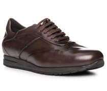 Schuhe Sneaker, Leder, dunkelbraun