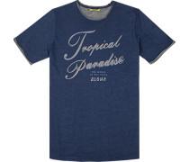 T-Shirt Baumwolle meliert