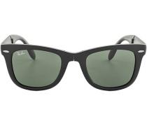Brillen Sonnenbrille Wayfarer Folding , Kunststoff