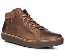 Schuhe Sneaker Leder warm gefüttert