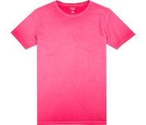 T-Shirt, Body Fit, Baumwolle