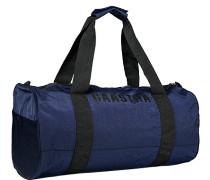 Tasche Sporttasche, Nylon, marineblau