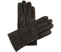 Handschuhe Nappaleder handvernäht dunkelbraun