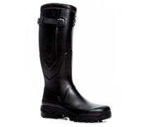 Herren Schuhe Wellington Naturkautschuk schwarz