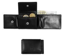 Herren  Marc O´Polo Mini-Geldbörse Leder schwarz