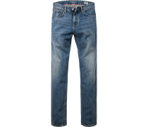 Jeans Modern Fit Baumwolle jeansblau