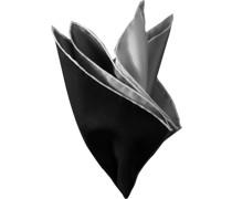 Accessoires Einstecktuch Seide -grau