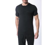 Herren T-Shirt Modal-Mix schwarz