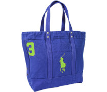 Tasche Shopper Canvas royal