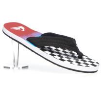 Schuhe Zehensandalen Textil -weiß