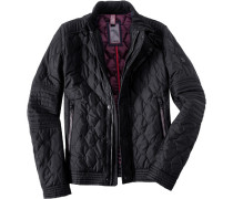 Steppjacke, Nylon wattiert,