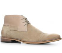Herren Schuhe Desert Boots Leder-Mix beige beige,beige