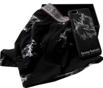 Unterwäsche Trunk+iPhone6 Hülle Baumwoll-Stretch gemustert