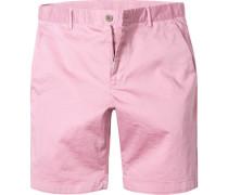 Hose Bermudashorts Modern Fit Baumwolle dunkelrosa