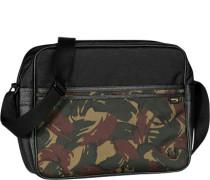 Tasche Umhängetasche, Microfaser, camouflage