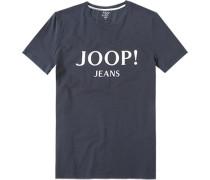 T-Shirt Modern Fit Baumwolle navy