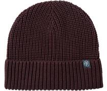 Mütze Baumwolle bordeaux