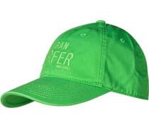 Herren   Cap Baumwolle grasgrün