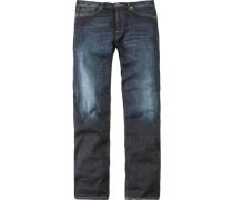 Herren Jeans Etesien Denim-Stretch denim blau