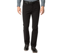 Jeans, Regular Fit, Baumwoll-Stretch,
