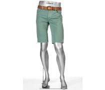 Jeans Bernudas Pipe-K, Regular Slim Fit, Baumwolle, pastell-türkis