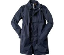 Regenmantel Nylon wasserdicht nachtblau