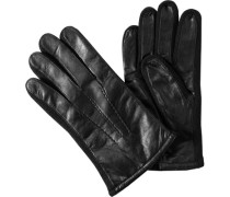 Herren  Handschuhe Ziegenleder schwarz