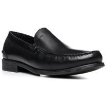 Herren Schuhe Loafers Leder schwarz schwarz,schwarz