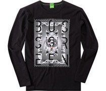 T-Shirt Longsleeve Modern Fit Baumwolle