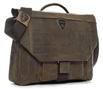 Herren Tasche strellson Brief Bag Nubukleder braun