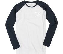 T-Shirt, Baumwolle, -marine