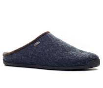 Hausschuhe Wollfilz nachtblau