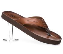 Schuhe Zehensandalen Rindleder