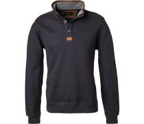 Pullover Toyer Baumwolle dunkelblau