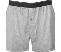 Unterwäsche Shorts Baumwolle meliert