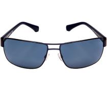 Brillen Sonnenbrille, Metall-Kunststoff, saphirblau