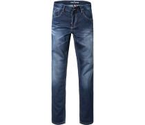 Jeans Modern Fit Baumwoll-Stretch