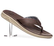 Schuhe Zehensandalen Kunstleder Swellular-Technologie