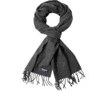 Schal Wolle anthrazit meliert